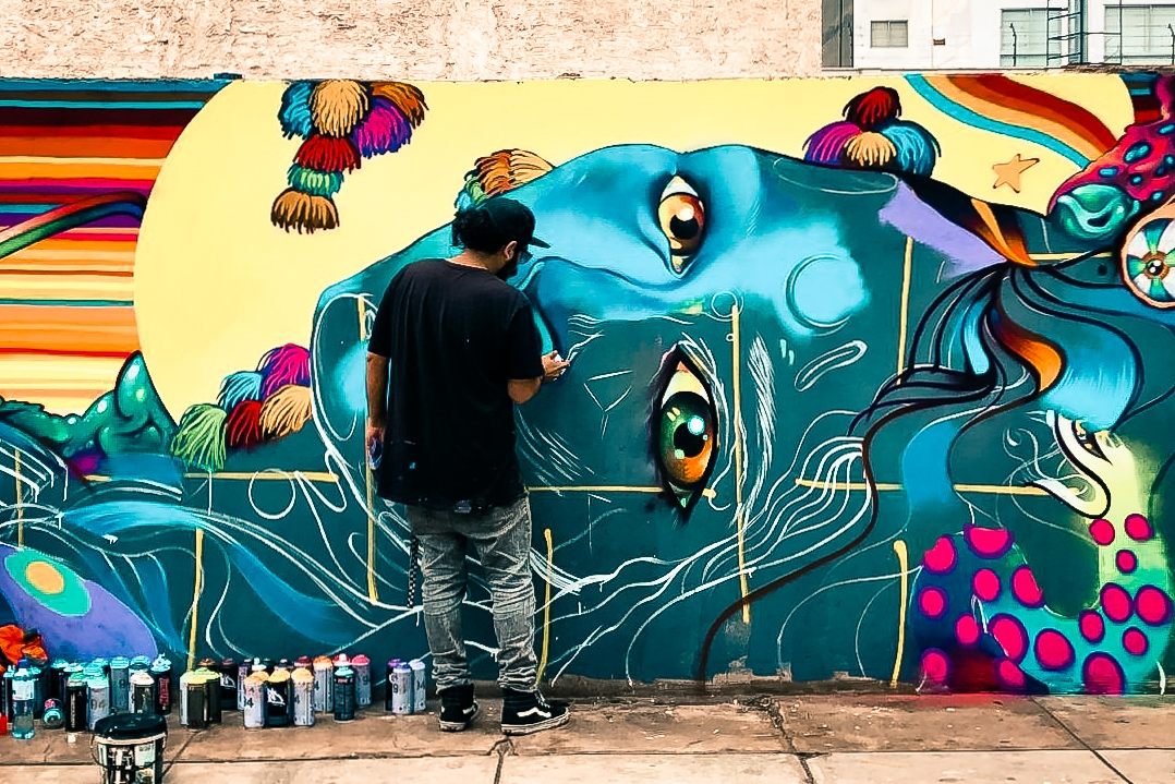 Aww, Peru, Peru - The San Francisco of South America - has an amazing surf and graffiti art culture. And of course, the blended people and the food, ... can we say pisco sour and cerviche!